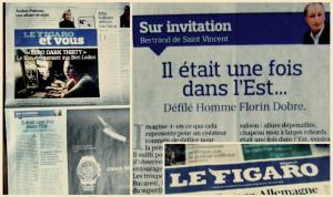 Florin Dobre Le Figaro
