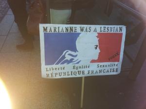 Marianne was a lesbian