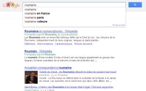 'roumains - Recherche Google'