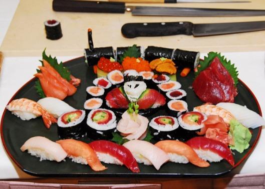 Le cuisine japonaise - le plaisir supreme