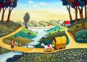 Mihai Dascalu Naive painter