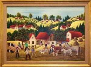 pictura naiva Mariana Mihut