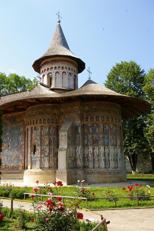 Eglise peinte de Bucovine