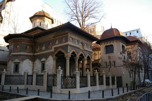 l'Eglise Stravropoulos Bucarest