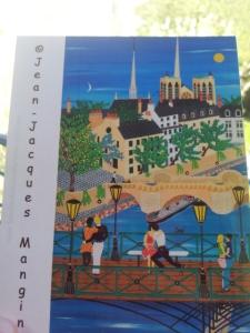 Jean Jacques Mangin carte