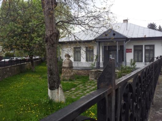 la maison d'un ecrivain de Piatra Neamt_Calistrat Hogas