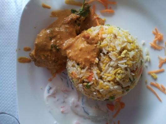 Riz Masala Kourouma Poulet Dishny Restaurant