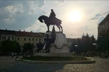 Statue Matei Corvin